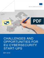 2019-05-15 Challenges and Opportunities for EU Cybersecurity Startups