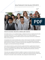 25-06-2019 Clausura Gobernadora Pavlovich Ciclo Escolar 2018-2019-Opinion Sonora