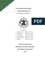 Teori Portofolio Print