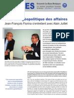 Pour une géopolitique des affaires - Les entretiens géopolitiques du directeur Hors série n°1 - octobre 2010