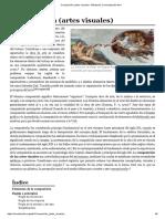 Composición (Artes Visuales) - Wikipedia, La Enciclopedia Libre