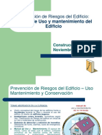 Manual de Uso y Mantenimiento Del Edificio