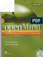 Open Mind Workbook 1B