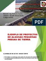 Ejemplo de Pequeñas Presas .