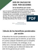 Métodos de Calculo de Beneficios Por Acciones