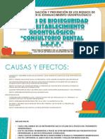Riesgos de Bioseguridad en El Establecimiento Odontológico