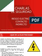 Charlas Seguridad Riesgo Electrico Contacto Indirecto