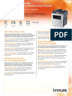 Lexmark MX410 Series Spec Sheet