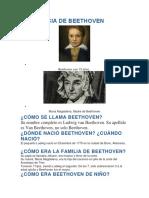 La Infancia de Beethoven