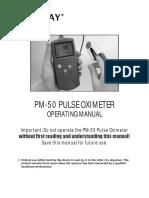 Mindray- PM-50 Pulse Oximeter