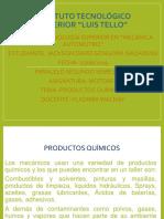 Productos Químicos Mecanica Automotriz