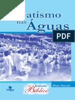 O Batismo Nas Aguas - Edir Macedo