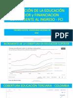 5. Financiación Educación Superior y FCI