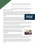 16-06-2019 Entrega Gobernadora Primeros Apoyos Del Programa Soy Pilar-ESDH