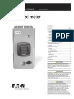 Enclosed meter