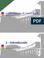 El Contrato de Lease Back Univ. de Chile