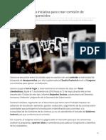 16-06-2019 Pavlovich presenta iniciativa para crear comisión de búsqueda de desaparecidos-Tribuna