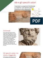 Archimede e Gli Specchi Ustori