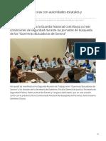 18-06-2019 Se reúnen Buscadoras con autoridades estatales y nacionales-Tv Pacifico