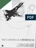 Yo Canto La Diferencia - Mediano