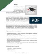 Asignatura Metodología Del Trabajo de Titulación - VIII Sem.