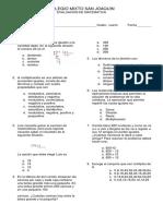 Examen de Cuarto