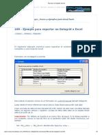 Exportar Un Datagrid a Excel