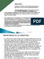 4.-Tema 4 Direccion