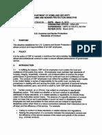 CBP Code of Conduct