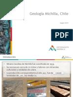 Geología Michilla Resumen_oficial 2015_Venta MIC