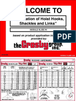 04 - Applications of Hoist Hooks ,Shackles and Links-converted