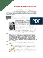Breve Historia Del E.K.G.