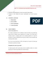 Guia N°07 - Centro de Gravedad de Figuras Planas