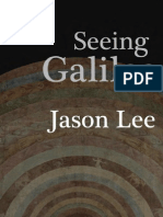 Seeing Galileo (Jason Lee) Cover, Contents and Foreword