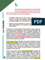 Explicaciones sobre los documentos del caso relámpago