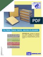 Filtros Micro Plissados