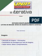 ESTUDOS DISCIPLINARES - LEITURA DE IMAGEM