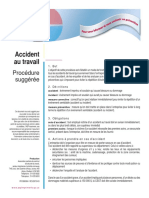 AccidentTravail Procedure