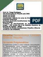 Hermêutica - apresentação