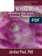 You Are Beyond Belief—Dr. Jordan Paul