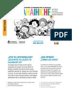Mafalda Desplegable en Wichi Para Web