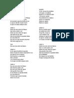 letra de another in fire en español
