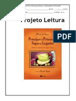 Projeto Leitura Principes e Princesas
