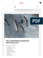 Bowarchery.com-How to Bowfishing Jumping Fish Bowarchery Com