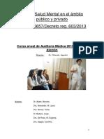Ley Nacional Salud Mental 26.657 Argentina