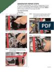Generator Repair Steps
