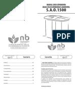 Manual Caixaseparadora 1500 New Borges Ambiental Def 5986130