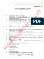 IAS – Mathematics Optional – 2012 Question - Paper II