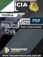 PDF Ayresbarros Legislacaoextravagante Policiacivil Teoria