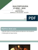 AULA - Barroco e Arcadismo - Revisão